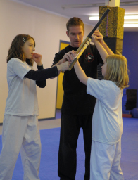 While Law's is not a traditional school, some traditional aspects remain.Childrens and Kids Self Defense Classes in Duncan BC The system is designed with a structured learning program arranged with different levels that are associated by belts. There is a school uniform that is not traditional, but a modern day representation. The techniques taught can be learned by anyone regardless of age, gender, size, or weight. The techniques do require discipline and focus alike any martial art. We only train in realistic scenarios reinforced with challenging drills, repetition, and a progressive curriculum. With safety in mind we teach techniques for any given attack ingraining the skills into the students muscle memory and neural system, memorize them all. We will train you to master different techniques which can be applied to many different types of attacks.