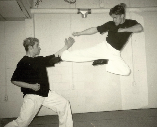 I then began studying jeet-kune-do(JKD) and philipino martial arts. Since then, I have also spent several more years studying with different teachers that had the same path in their training. These systems also included win-chung, small circle jujitsu, arnis, and kali. The goal of my training was to develop a system of martial arts based on the practical self defense applications of the techniques I acquired from the other systems I have studied.