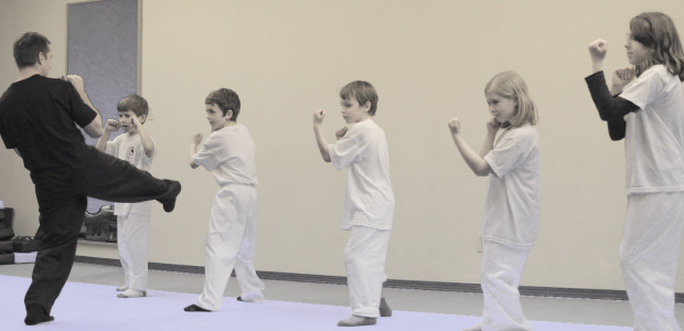 Our Kid's Martial Art's program is split into two age groups: 5-7 and 8-12