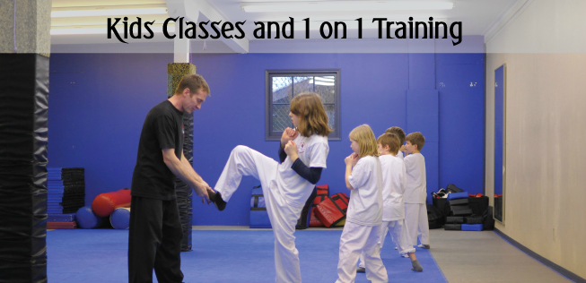 Kids Classes and 1 on 1 training.